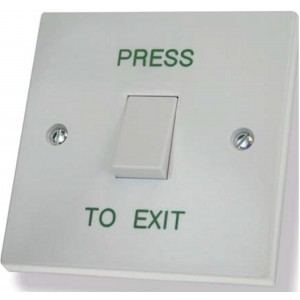 Press To Exit Door Release Button